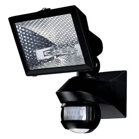 Projecteur halogène 150W & détecteur de mouvement