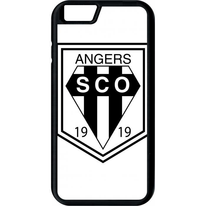 Coque apple iphone 6 blason club sco angers - Achat coque - bumper ...