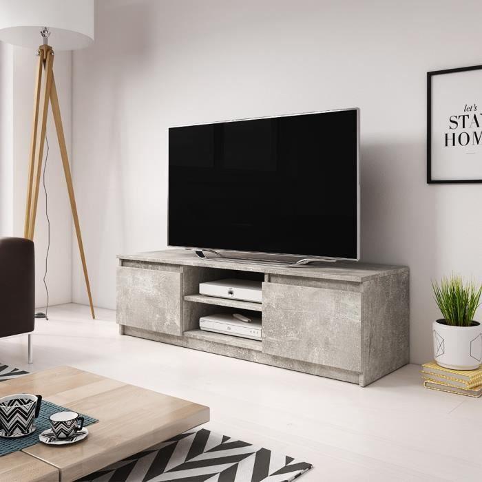 meuble tele encastrable