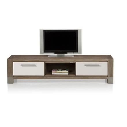 meuble tv 190 cm acacia massif kodiak h h achat vente meuble tv meuble tv 190 cm acacia mas. Black Bedroom Furniture Sets. Home Design Ideas
