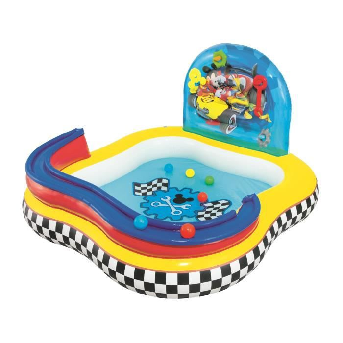 Mickey piscine jeu 160 x 160 x 91 cm achat vente for Piscine enfant gonflable