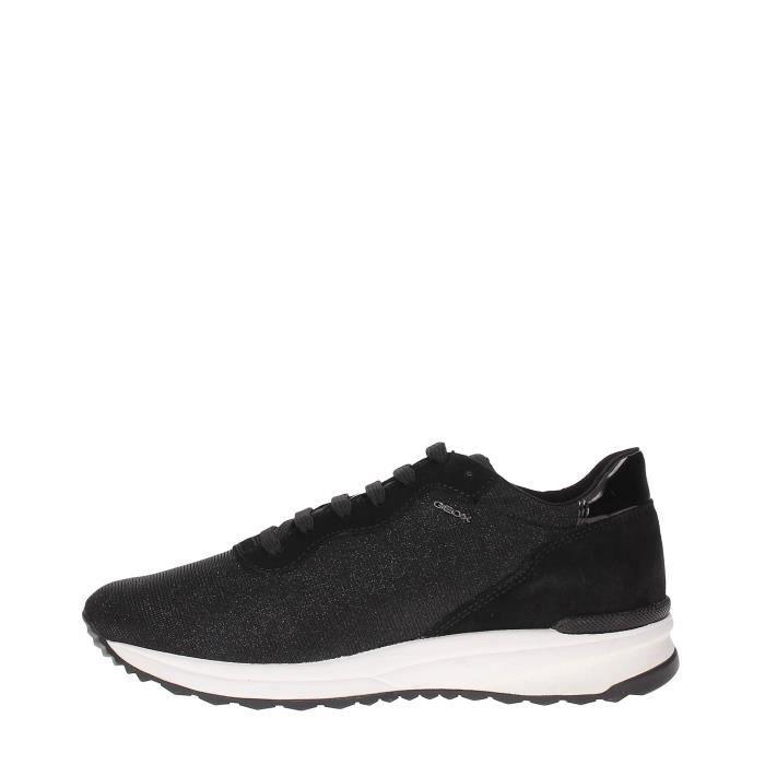 scarpe da corsa vende scarpe da corsa Geox Sneakers Femme LT GREY Lt grey - Achat / Vente basket - Black ...