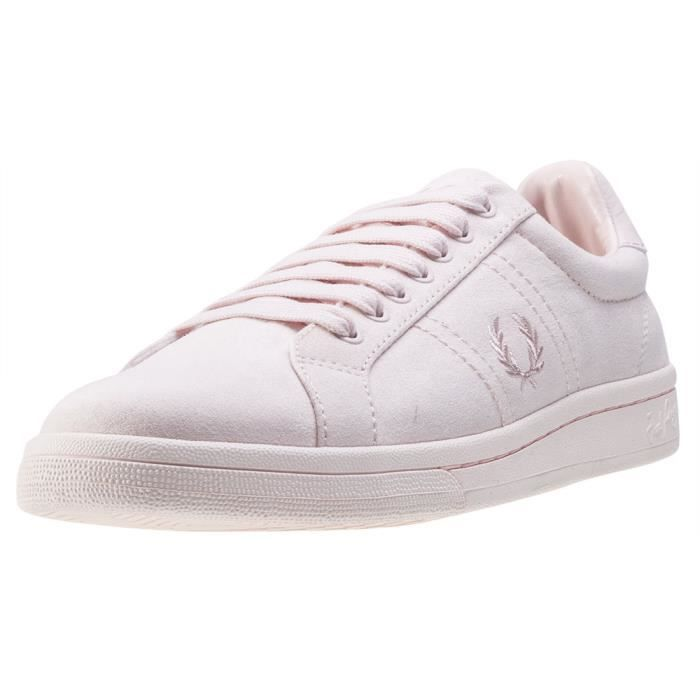 B721 Cotton Rose UK Mixte Brushed Blush Fred Perry Baskets 8 Znxw1v15Cq