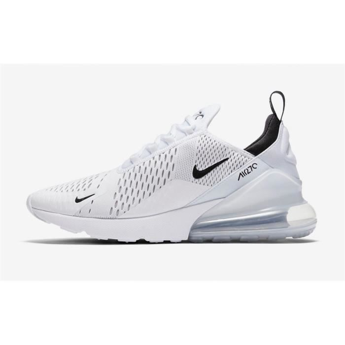 lowest price 72bfe 12702 Nike Air Max 270 Chaussure De Running Pour Homme Femme Blanc