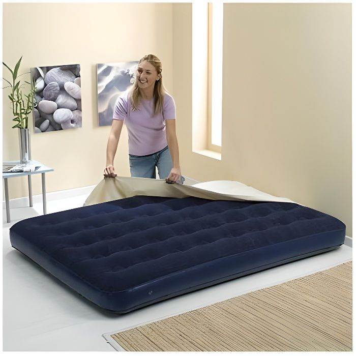 matelas gonflable 2 places achat vente lit d 39 appoint pliant matelas gonflable 2 places. Black Bedroom Furniture Sets. Home Design Ideas