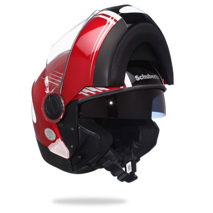 schuberth casque modulable c2 rouge achat vente casque moto scooter schuberth modulable c2. Black Bedroom Furniture Sets. Home Design Ideas