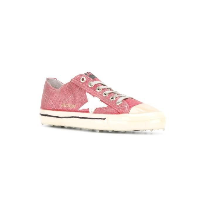 GOLDEN GOOSE HOMME G29MS639G6 ROUGE TISSU BASKETS