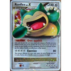 81//111 Niv.40-100PV Ronflex Pokemon Platine Rivaux Emergeants
