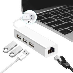 HUB Ototon® Hub USB multiples 3 Ports avec un RJ45 Ada