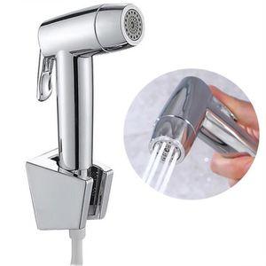 Ciencia Hand Held Bidet Pulv/érisateur Premium en acier inoxydable Pulv/érisateur Shattaf/ /Complete Ensemble de bidet pour WC main Bidet Pulv/érisateur pour toilettes Ws024af6