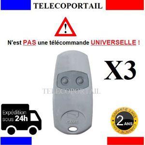 TÉLÉCOMMANDE DOMOTIQUE  3 X CAME 432EE - TELECOMMANDE PORTAIL CAME TOP 432