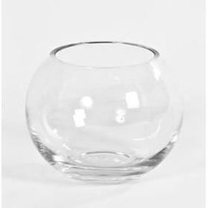 vase boule en verre 20 cm achat vente vase. Black Bedroom Furniture Sets. Home Design Ideas