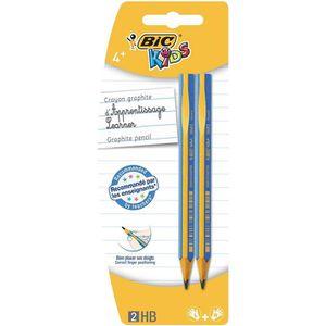 Stylo - Parure BIC kIDS crayons de couleur triangulaires eVOLUTIO