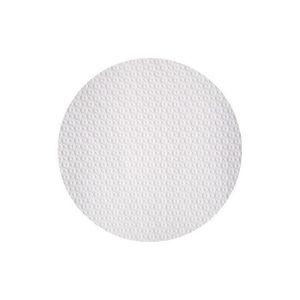 """1000 x jetable ROND papier BLANC plaques 6 /"""" 15 cm"""