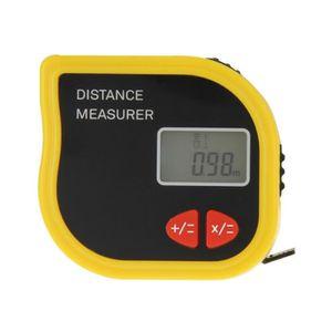 Handheld Digital Laser Point Distance Meter Measure Tape Range Finder 100CM