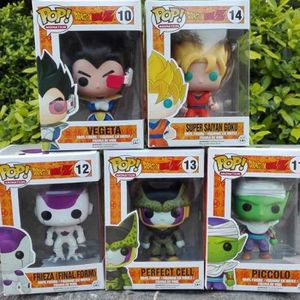 FIGURINE - PERSONNAGE FigurineDing 5PCS Funko Pop! Figurine DRAGON BALL