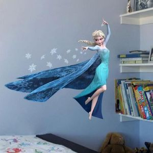 STICKERS Sticker mural elsa la reine des neiges b01211