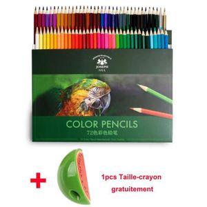 CRAYON DE COULEUR 72 Crayon de Couleur 72 Couleurs Uniques - 0.3cm l