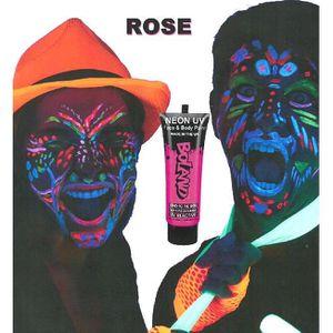 MAQUILLAGE Tube peinture rose fluo UV corps et visage 10 ml M