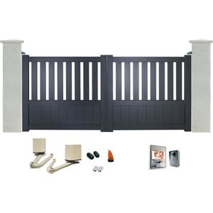 portail battant 3m achat vente portail battant 3m pas cher cdiscount. Black Bedroom Furniture Sets. Home Design Ideas