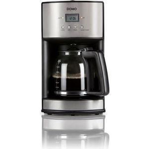 CAFETIÈRE DOMO DO473K Cafetière filtre - Inox