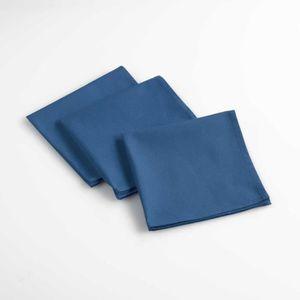 SERVIETTE DE TABLE Lot de 3 serviettes de table 40 x 40 cm coton uni