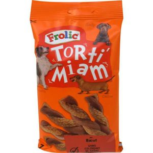 CROQUETTES Frolic Torti Miam Friandise Pour Chien 140g