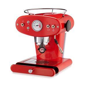 MACHINE À CAFÉ ILLY MACHINE À CAFÉ ESPRESSO CAFÉ MOULU X1 ROUGE