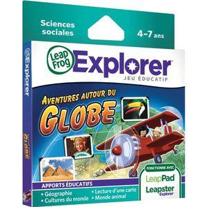 JEU CONSOLE ÉDUCATIVE LEAPFROG Explorer Jeu LeapPad Globe