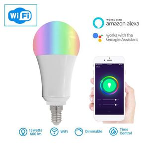 AMPOULE - LED 2172 Smart WIFI Ampoule LED WIFI Light RGB Multico