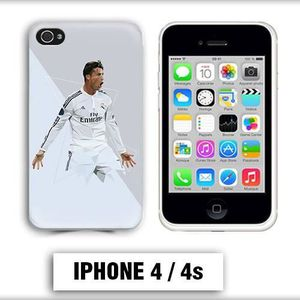 coque iphone 4 foot ronaldo madrid
