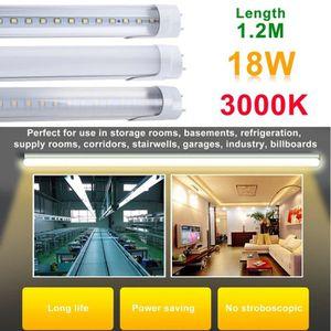 TUBE LUMINEUX 10 Pcs LED Tube Fluorescente T8 120cm-abat-jour Ra