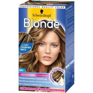 coloration kits de meches m4 - Coloration Meche Blonde