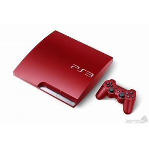 CONSOLE PS3 console playstation 3 slim rouge 320 go
