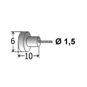 5 X Cycle VTT frein intérieur câbles SHIMANO etc Sertissage MTB 5 x Gear