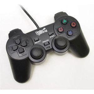 MANETTE JEUX VIDÉO Manette Shock Controller PS2 Noire
