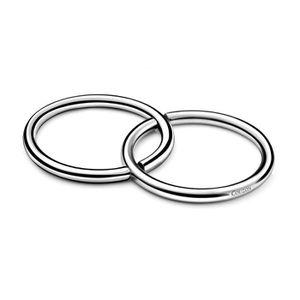 DESSOUS DE PLAT  Dessous de plat anneaux en inox finition miroir DU