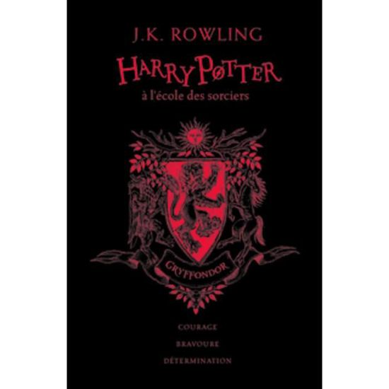 Harry Potter Tome 1 Harry Potter A L Ecole Des Sorciers Gryffondor Edition Collector 20e Anniversaire