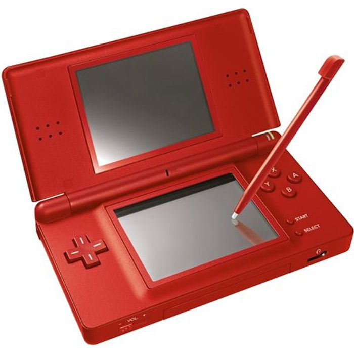 nintendo console ds lite rouge achat vente console ds. Black Bedroom Furniture Sets. Home Design Ideas