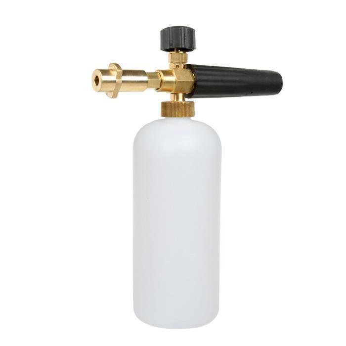 Pulvérisateur de bouteille de savon de canon de lance de mousse de neige pour le lavage de voiture de Jet de nettoyeur haute