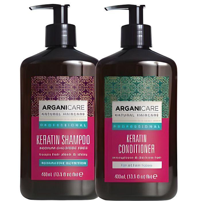 Duo Keratin Tous Types de Cheveux Arganicare