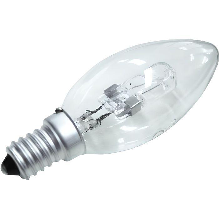 Ampoule Halogène 28W - Flamme E14