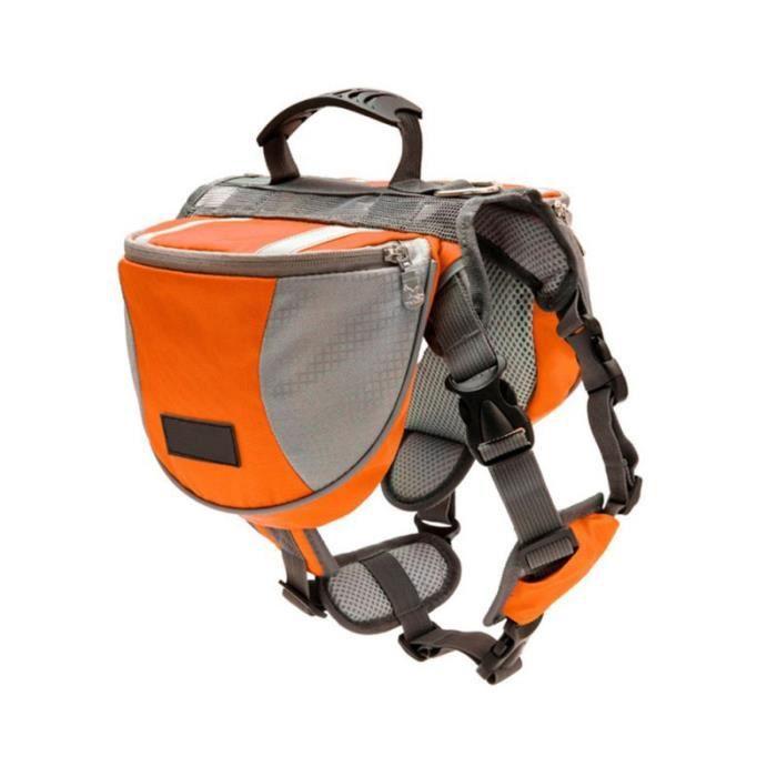 Sac de transport,Sac à dos pour animaux de compagnie Sac de selle ajustable et réfléchissant pour grands chiens - Type OA-S #A
