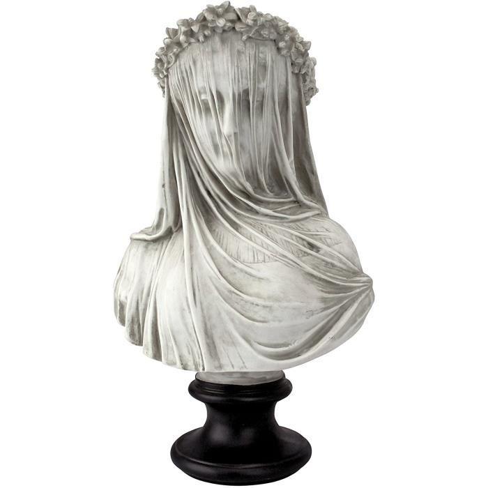 STATUE - STATUETTE Design Toscano NG31524 Buste, Blanc, 15 x 23 x 35,5 cm147