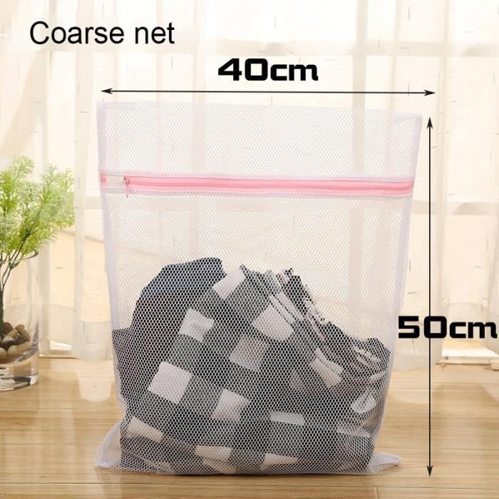 Filet De Lavage,Snailhouse sac de Protection en filet de lavage pour vêtements et Machine à laver, soutien - Type Coarse net M