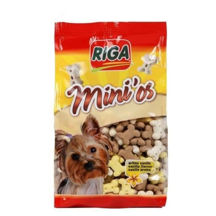 RIGA Biscuits Mini'os - Pour chien - 3 x 500 g