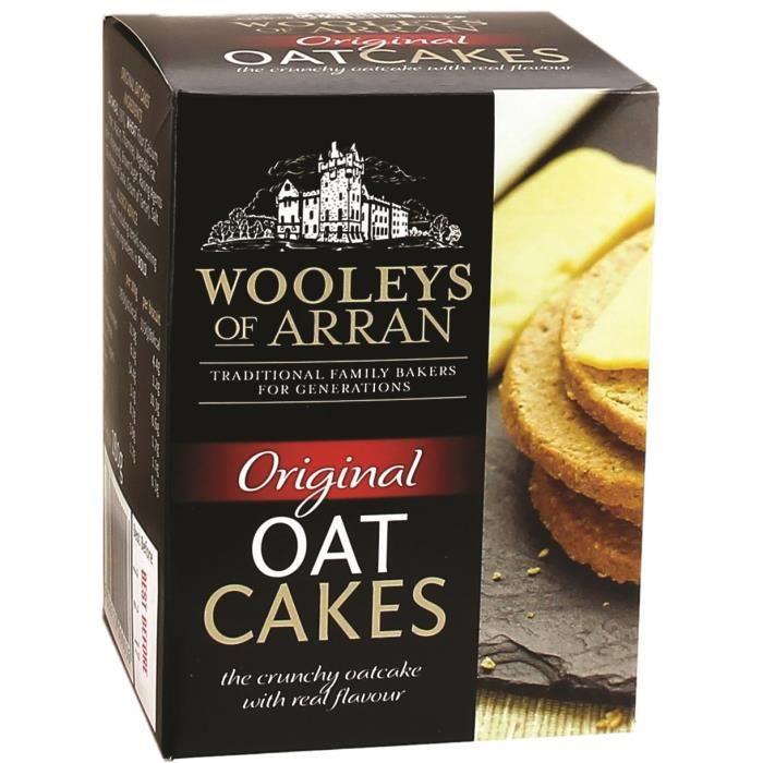 WOOLEYS Crackers Original Oatcakes - 280 g