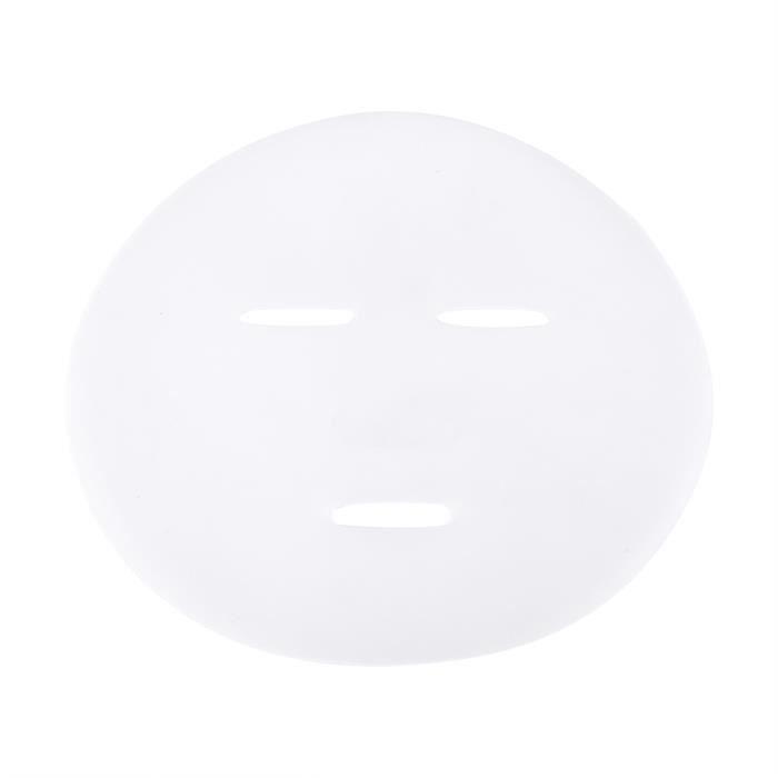 DUOKON 5 Pcs Silicone Durable DIY Disque Visage Masque Moule Sans Algues Masque Moule Plateau-CHE