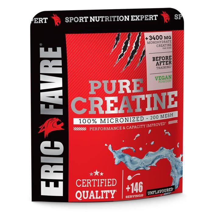 Pure Creatine 500g 100% Micronized Eric Favre - 146 services