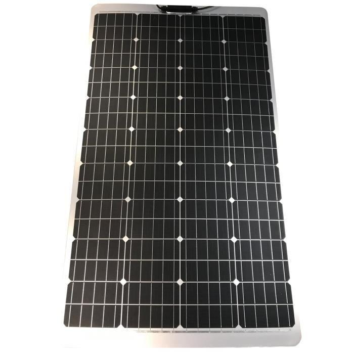 INOVTECH Panneau solaire Semi-Flex PERC 100 W
